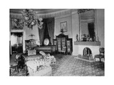 The Oval Sitting-Room at the White House  Washington Dc  USA  1908