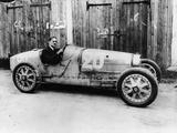 George Eyston in a 1927 Bugatti Type 35B  (1927)