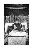 Thubten Gyatso (1876-193), the 13th Dalai Lama of Tibet, C1910 Giclée