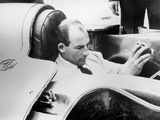 Stirling Moss in the Mg Ex181  1957