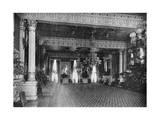 The East Room at the White House  Washington DC  USA  1908