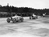 British Grand Prix  Brooklands  Surrey  1927