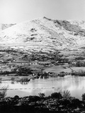 Bluebird K7 on Coniston Water  Cumbria  Possibly Christmas Day  1966