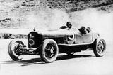Alfieri Maserati and Guerino Bertocchi in a Type 26 Maserati  Targa Florio Race  Sicily  1926