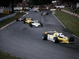Rene Arnoux in the British Grand Prix  Brands Hatch  1980
