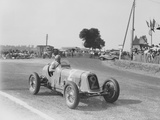 Étancelin in His Maserati at the Dieppe Grand Prix  France  22 July 1934