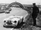 Crashed Cunningham C2-R  Le Mans  France  1951