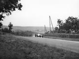 Rudolf Caracciola in His Mercedes  French Grand Prix  Rheims  1938