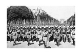 French Foreign Legion Review  Paris  14 July 1939