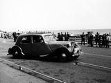 Brighton Motor Rally  Sussex  1953