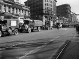 Trucks in Market Street  San Francisco  USA  C1922