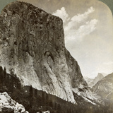 El Capitan and Half Dome  Yosemite Valley  California  USA  1902