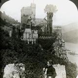 Castle Rheinstein  Near Bingen  Germany