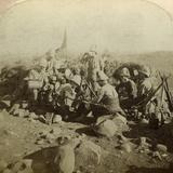 Gordon Highland Signallers on Signal Hill  Euslin  South Africa  Boer War  1899-1902