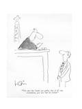 """""""The jury has found you guilty  but  if it's any consolation  you sure had…"""" - New Yorker Cartoon"""