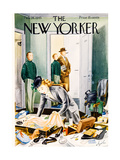 The New Yorker Cover - February 24  1945