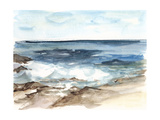 Coastal Watercolor V