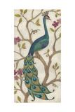 Peacock Fresco I