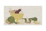 Contour Fruits and Veggies IV