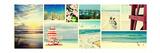 Coastal Collage Panel