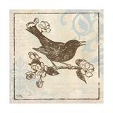 Bird Woodcut I