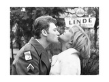 Johnny Hallyday Kissing Sylvie Vartan
