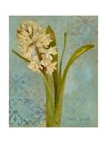 Hyacinth on Teal I
