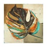 Contemporary Leaves II Giclée premium par Patricia Pinto