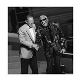 "Henri Salvador and Ray Charles at the ""Victoires De La Musique""  France"
