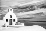 Church in Oia, Santorini (Thira), Greece Papier Photo par Nadia Isakova