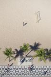 Aerial View of Ipanema Beach  Rio De Janeiro  Brazil