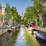 Netherlands  North Holland  Amsterdam the Zuiderkerk Bell Tower