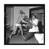 Johnny Hallyday Boxing