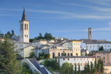 View of Spoleto  Umbria  Italy