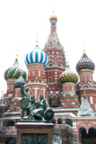 Saint Basil'S Cathedral on the Red Square  Moscow  Russia