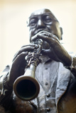 Louisiana  New Orleans  French Quarter  Bourbon Street  Musical Legends Park  Pete Fountain Statue