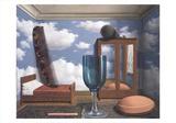 Les Valeurs Personnelles Reproduction d'art par Rene Magritte