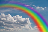 Rainbow in the Clouds