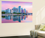 Florida  Tampa  Skyline  Dawn  Hillsborough River