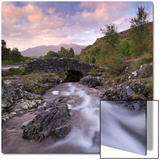Ashness Bridge in the Lake District National Park  Cumbria  England Autumn (September)