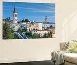 View of Spoleto  Umbria  Italy