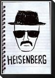 Heisenberg Sketch Poster