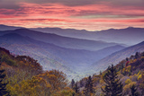 Smoky Mountains National Park in Tennessee, USA Papier Photo par SeanPavonePhoto