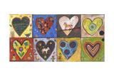 Eight Flat Hearts