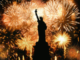 Ano Novo Estátua Da Liberdade