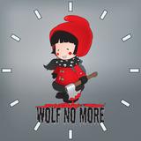 Little Red Riding Hood IllustrationWolf No More Clock Pattern