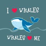 Whale Friendly Illustration