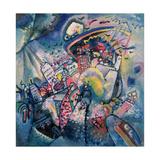 Moscow I, 1916 Reproduction d'art par Wassily Kandinsky