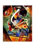 Black and Violet Composition, 1920 Reproduction d'art par Wassily Kandinsky