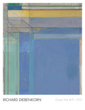 Ocean Park 79, 1975 Reproduction d'art par Richard Diebenkorn